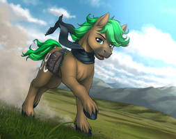 <b>Commission: Jaeger Sylva</b><br><i>MykeGreywolf</i>