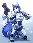 Commission: Power Armor Krystal
