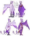 Commission: Lilac Phoenix