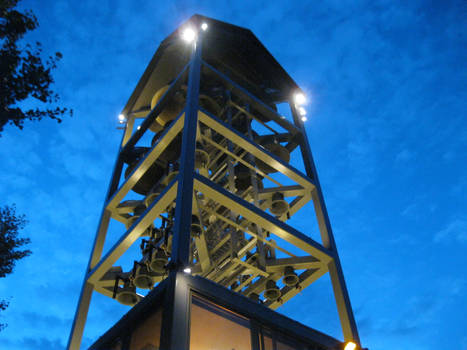 Carillon at dusk