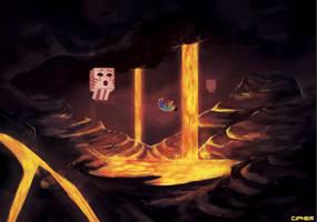 Minecraft: The Nether by valentina-s