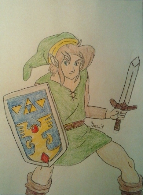 Link!!!!!! by LOZRocksmysocks77