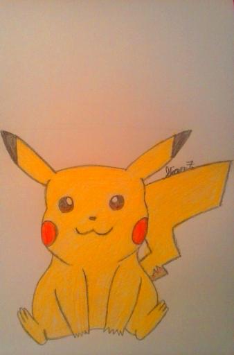 Pikachu by LOZRocksmysocks77