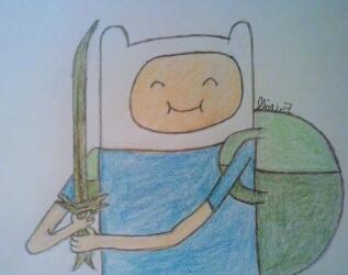 Happy Finn by LOZRocksmysocks77