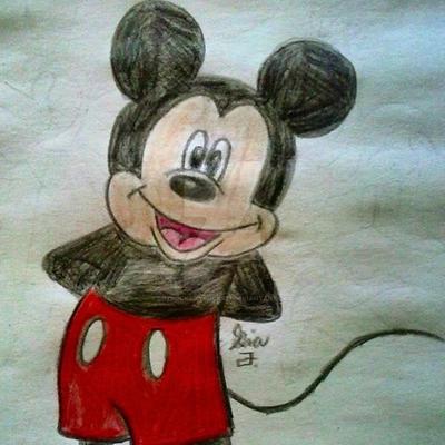 Mickey Mouse by LOZRocksmysocks77
