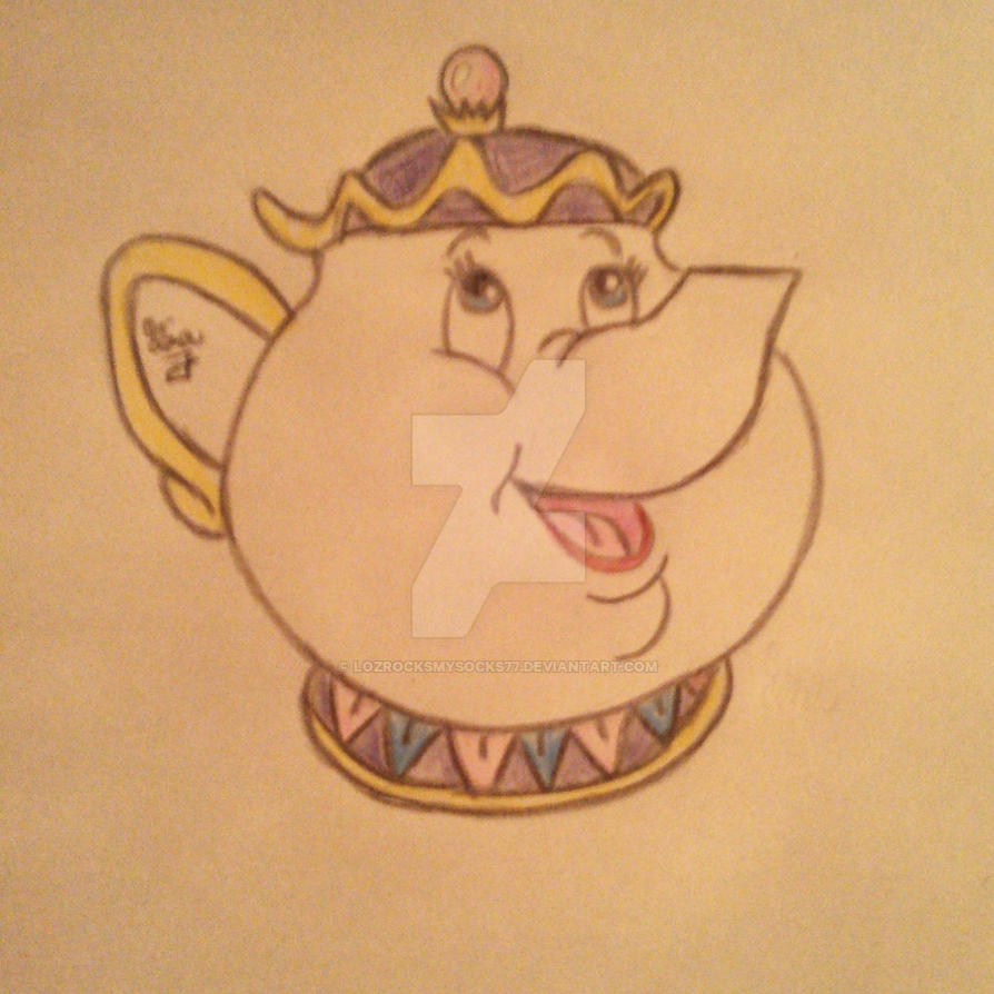 Mrs.Potts by LOZRocksmysocks77
