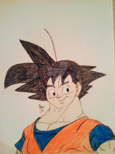 Goku! by LOZRocksmysocks77