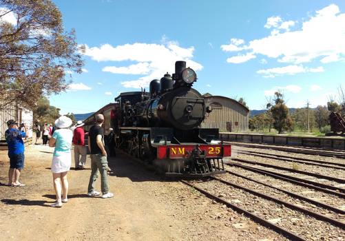 (photos of the last 6 months) Pichi Richi Railway