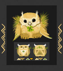 fairy owl (AUCTION closed)