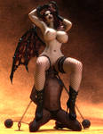 The Succubus' Throne by LuciferSynd