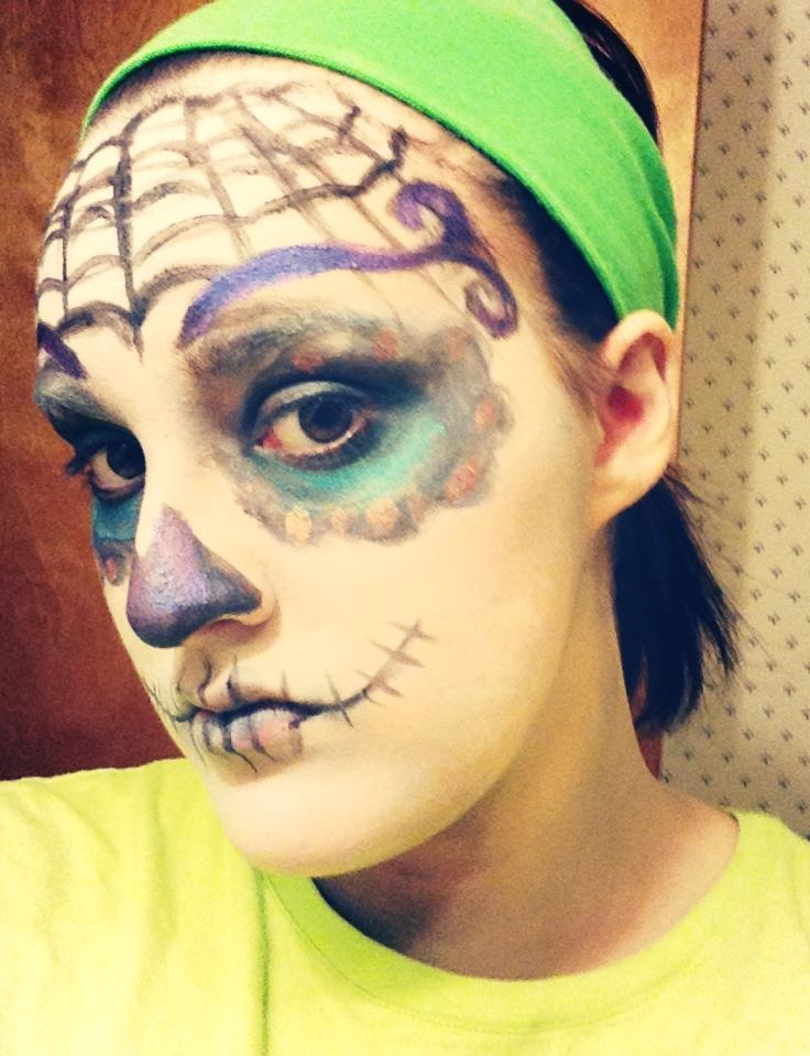 sugar skull makeup wallpaper - photo #18