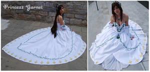 Princess Garnet Dress by Yurai-cosplay
