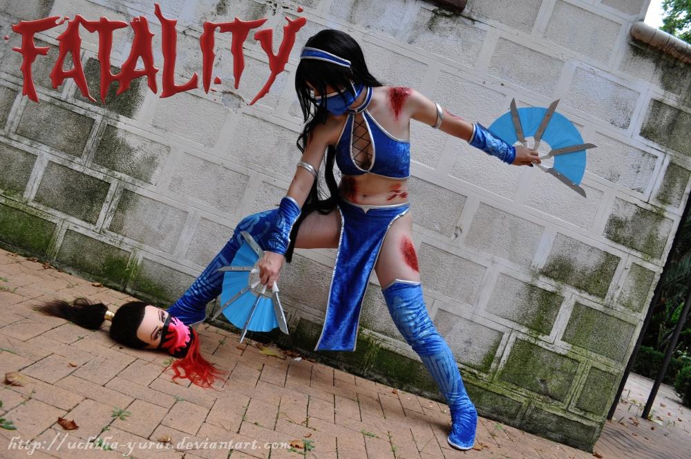 Kitana FATALITY by Yurai-cosplay