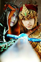 Midna+Link Master Sword by Yurai-cosplay