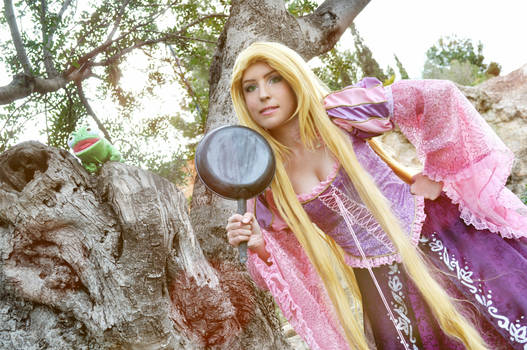 Rapunzel Limited Edition Doll Costume
