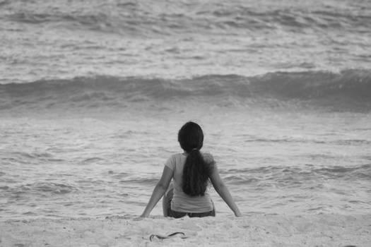 Somewhere along the shore