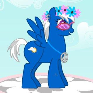 Pony OC by snickersnap