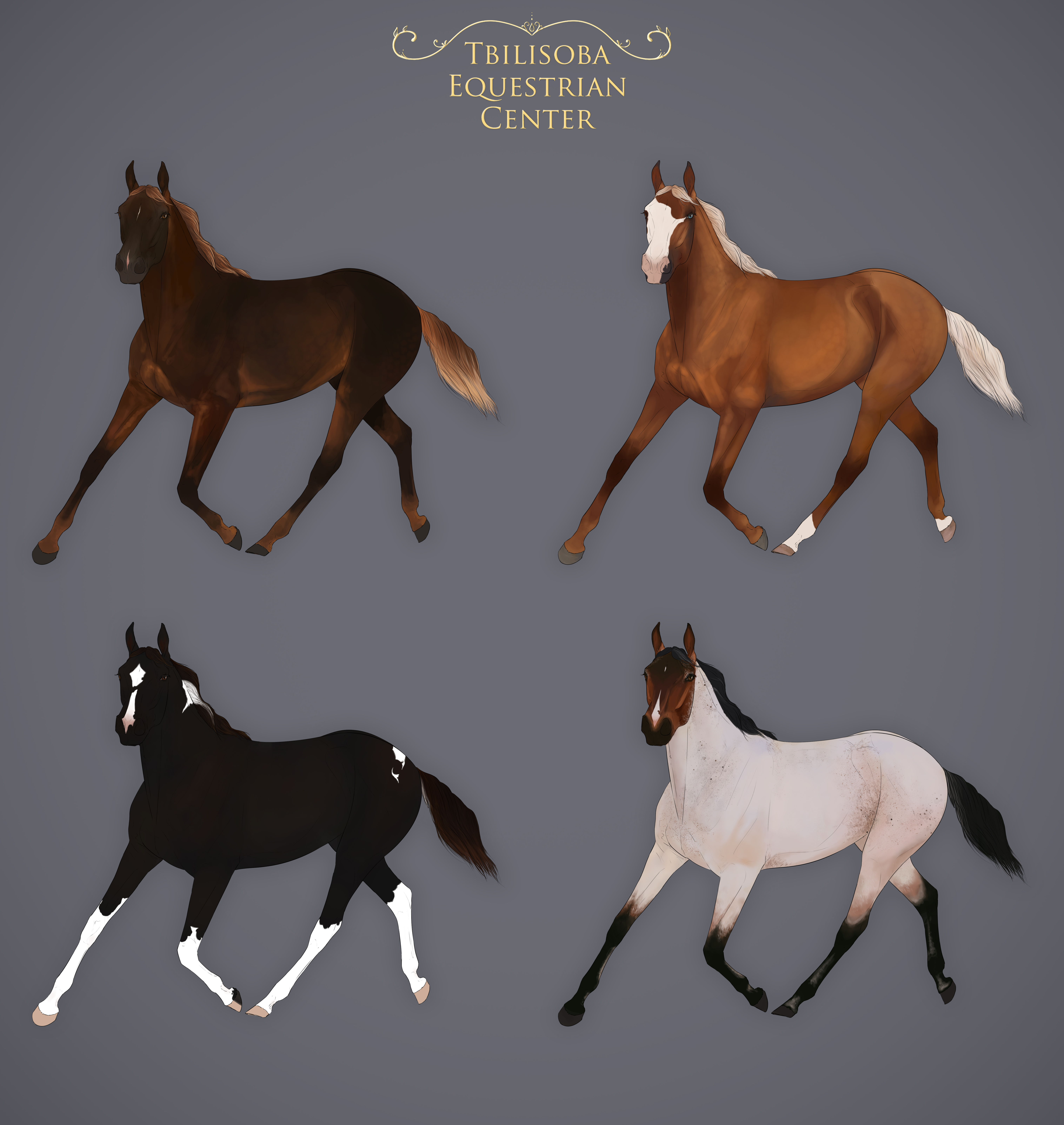 CLOSED   Lineage Yearlings    Art Auction