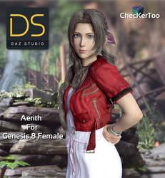 Aerith For Genesis 8 Female