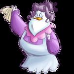Mrs. Beakly by FrothingLizard