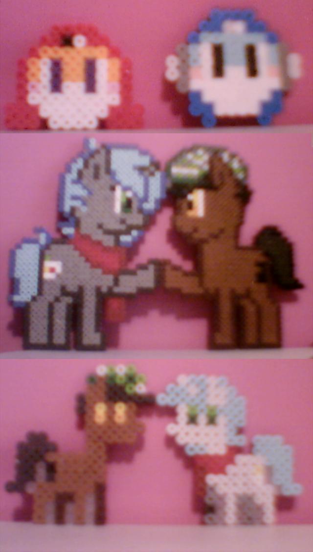 Pony Perlers by Frail-Ice
