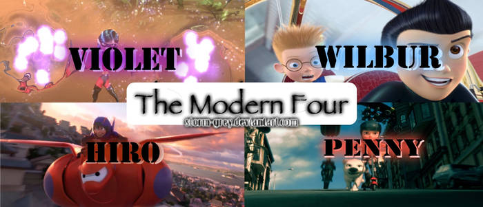The Modern Four: Promo Poster