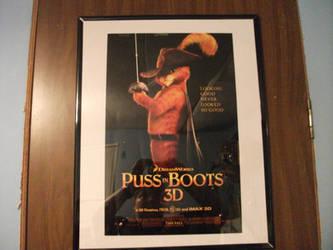 Puss In Boots Promotional Poster