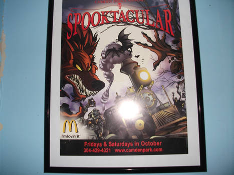 Camden Park's Spooktacular Promotional Poster