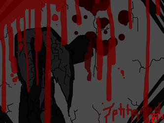 Tattered And Shattered Written With Blood by twilight-the-bunny78