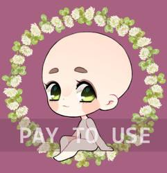 P2U   Chibi Doll Base by johdaa