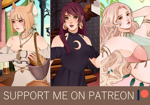 Support me on Patreon !
