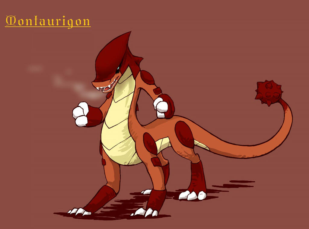 Montaurigon by Charizardtamer12