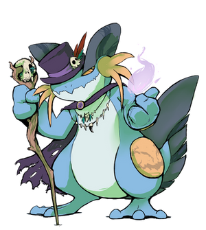 Swampert Witch Charity
