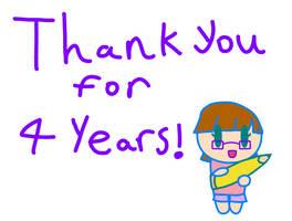 4 Year Anniversary Art