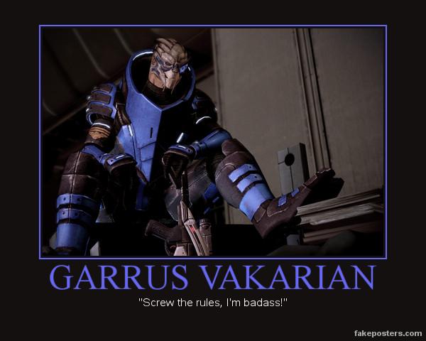 Garrus Vakarian By RandomlyEnjoying On DeviantArt