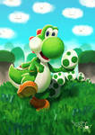 Yoshi Taking Aim