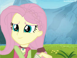 Fluttershy in the nature by SaraoooFluttershy