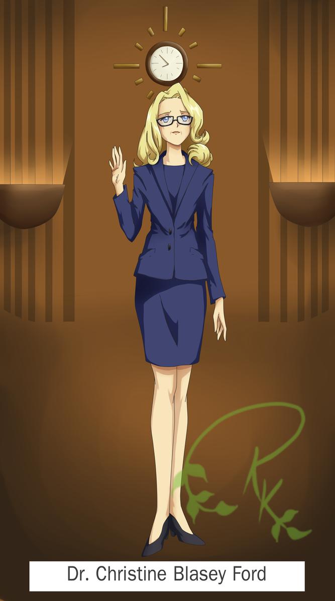 Dr. Christine Blasey Ford by Rachel8889