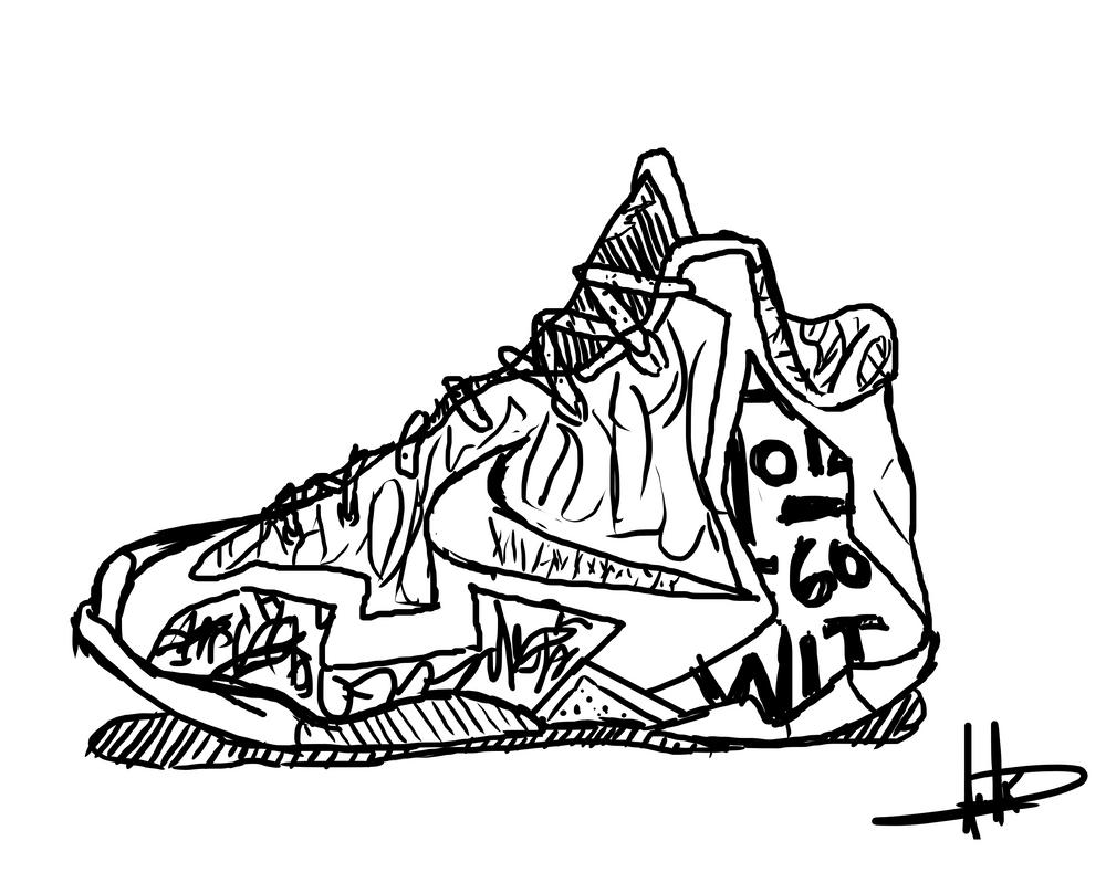 BasketBall Shoe by Neonspectrum