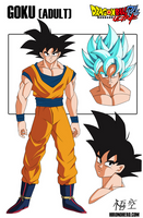 Dragonball Ultra Model Sheet: Goku