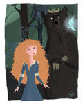 merida and mother