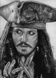 Captain Jack Sparrow by PopoKarimz