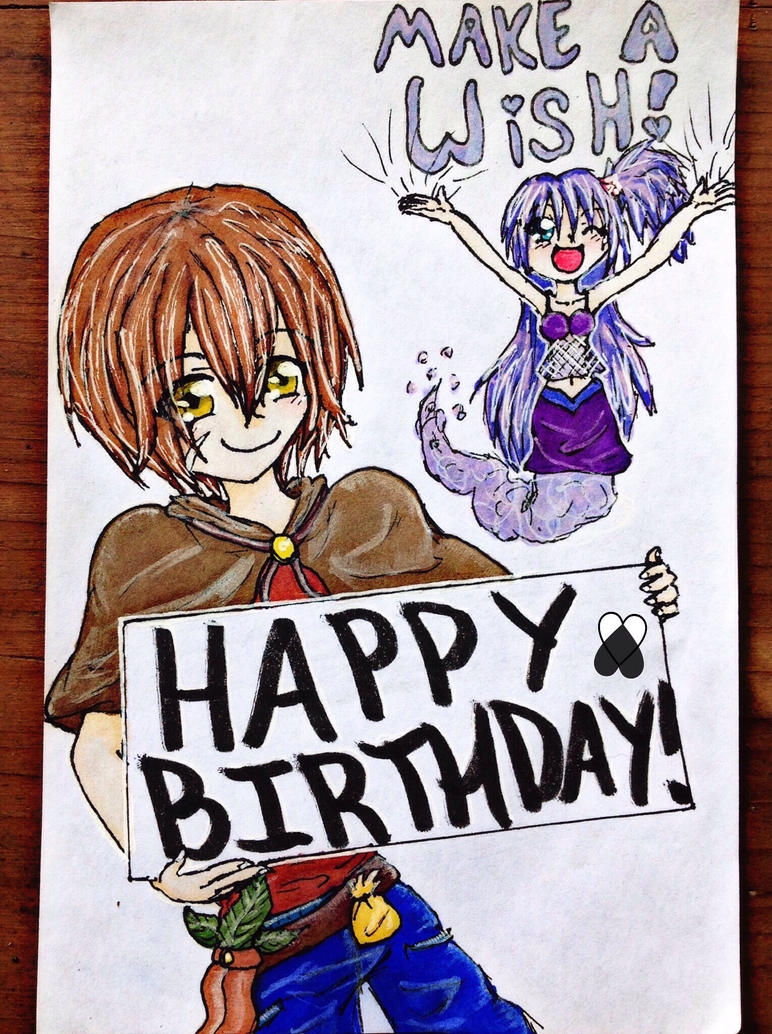 Happy Birthday from Demetry and Jewel! by RoseDra90n