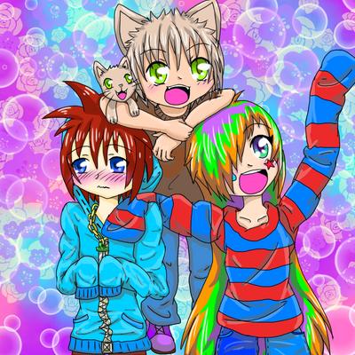 Original Trio by RoseDra90n
