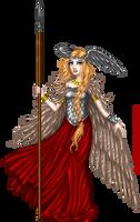 Winged Freya by Monica-NG