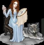 Sansa and Lady