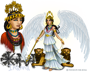 Inanna I by Monica-NG