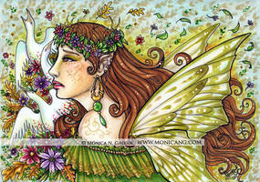 Green Fairy by Monica-NG