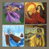 Four Seasons and Elements by Monica-NG