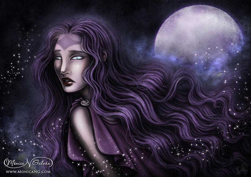The Oracle of the Moon by Monica-NG